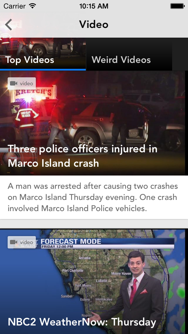 NBC2 App - #1 News App in SWFL screenshot 3