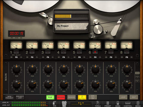 AmpliTube Fender™ for iPad screenshot 4