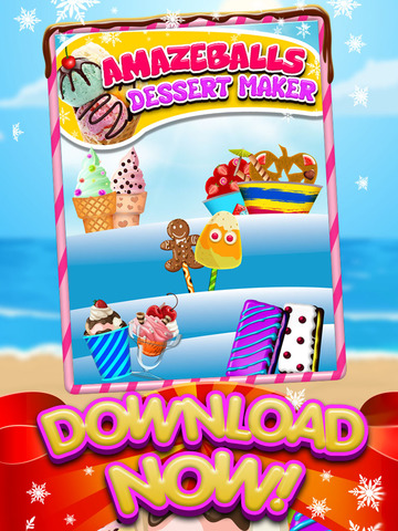 A AmazeBalls Dessert Maker Ice-Cream Creator - Cones, Sandwiches & Sundaes screenshot 6
