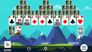 TriPeaks™ Solitaire screenshot 2