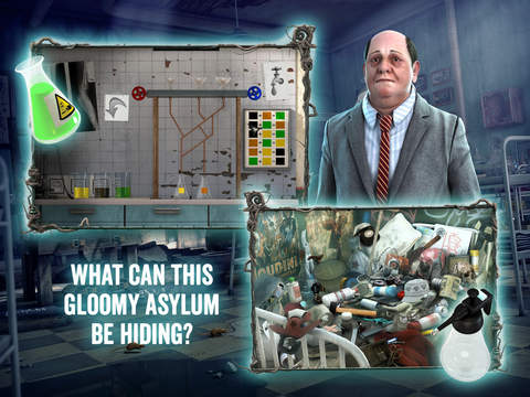 Medford Asylum: Paranormal Case - Hidden Object Adventure screenshot 9