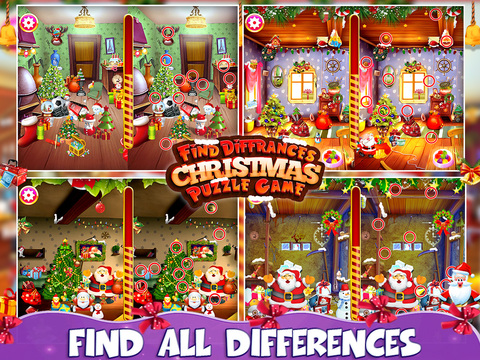 Find Differences Christmas Puzzle screenshot 5