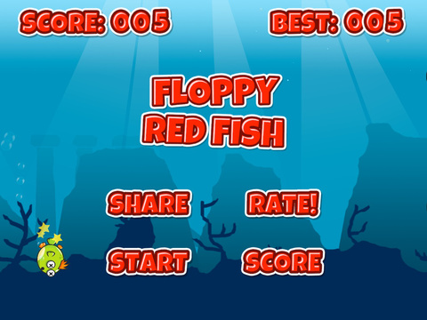 Floppy Fish Free screenshot 10
