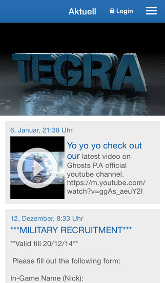 Tegra Gaming screenshot 1