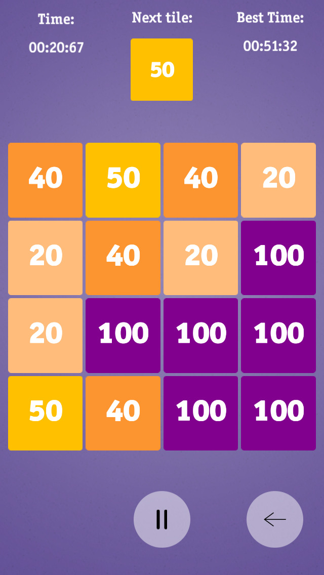Hundred tiles screenshot 1