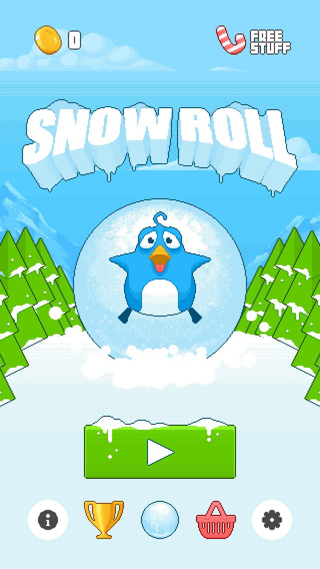 Snow Roll screenshot 5