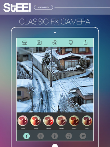STEEL Camera - Best Photo Editor and Stylish Camera Filters Effects screenshot 8