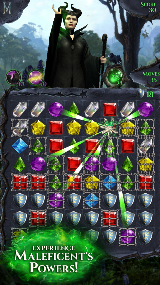 Maleficent Free Fall screenshot 1