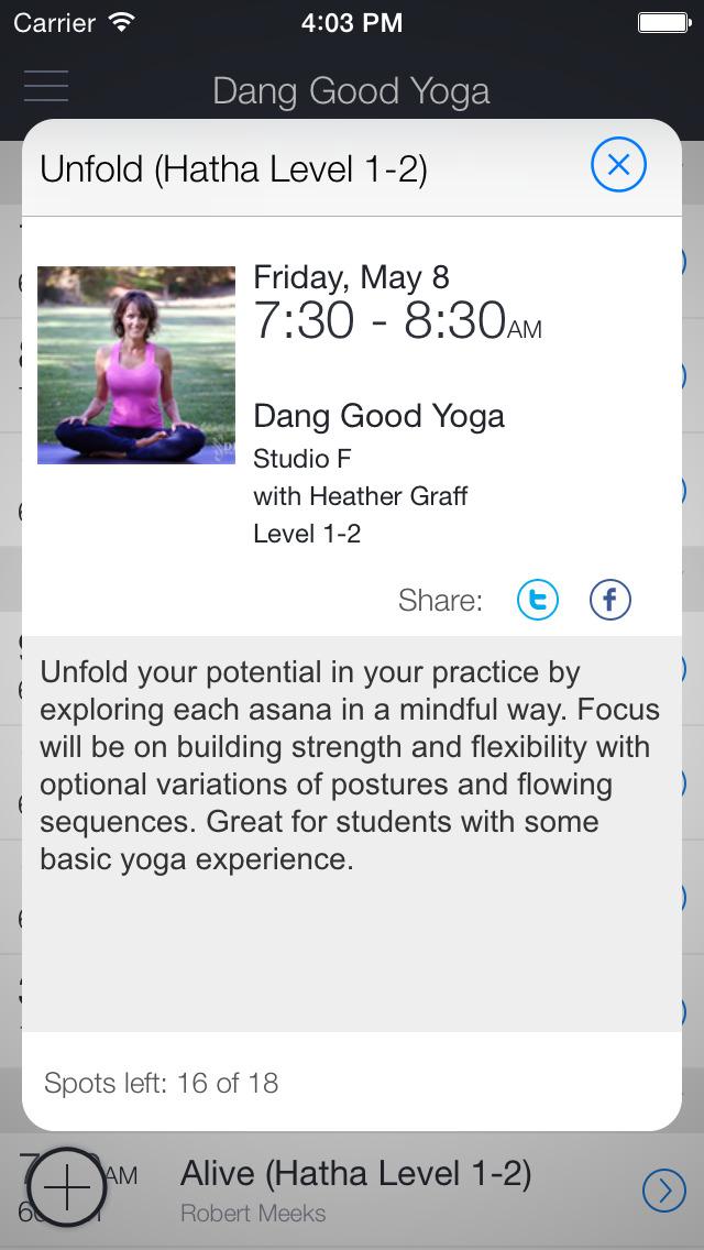 Dang Good Yoga! screenshot 2