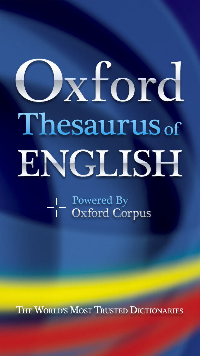 Oxford Thesaurus of English 2 screenshot 1