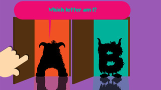 My first alphabet and letters monster puzzle Sound Game for toddlers and preschoolers screenshot 2