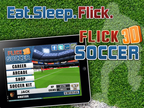 Flick Soccer 3D screenshot 6