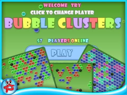 Bubble Clusterz Puzzle HD screenshot 5