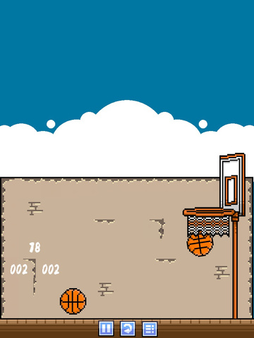 Retro Basketball Free screenshot 8