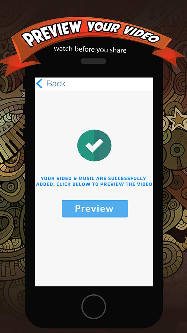 Add Music & Video Editor FREE - Enter Video-Shop screenshot 4