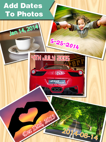 Photo Date & Photo Time Stamp Camera - Add Date & Timestamp to One or All Photos screenshot 6