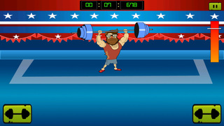 ` Hipster Weight Lifting: Tiny Meat Head Battle Competition Games screenshot 4