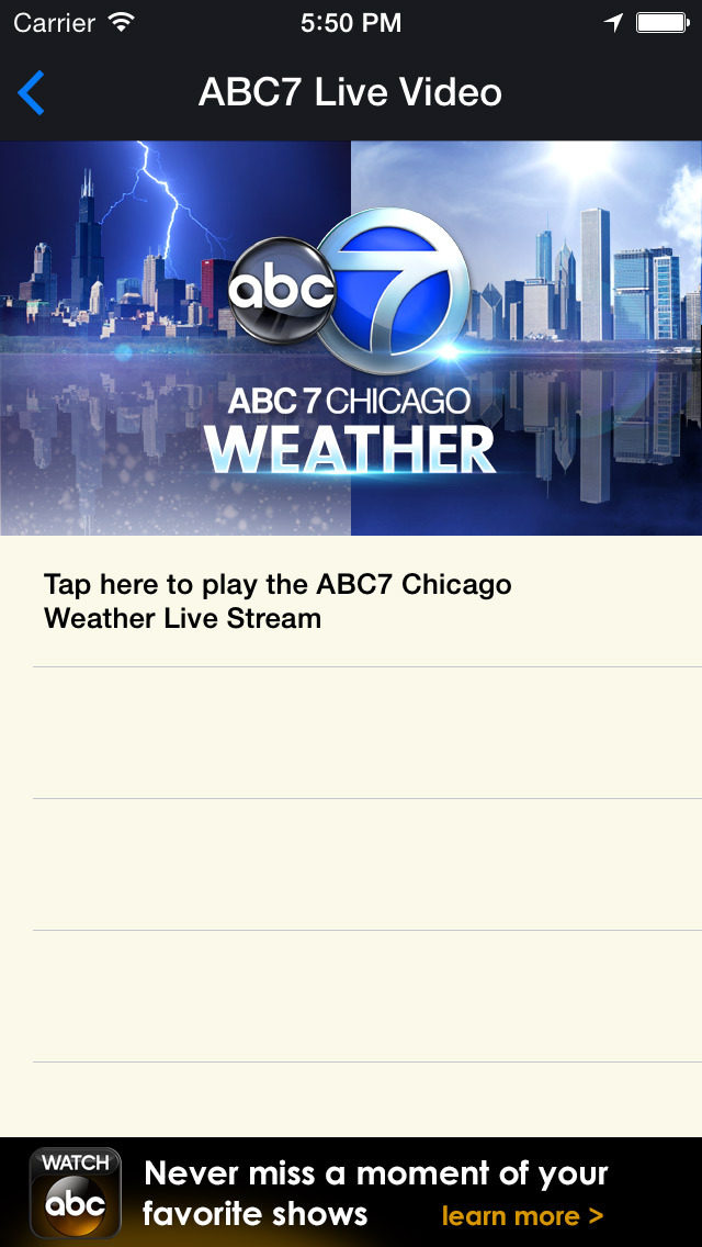 ABC7 Chicago Weather screenshot 5