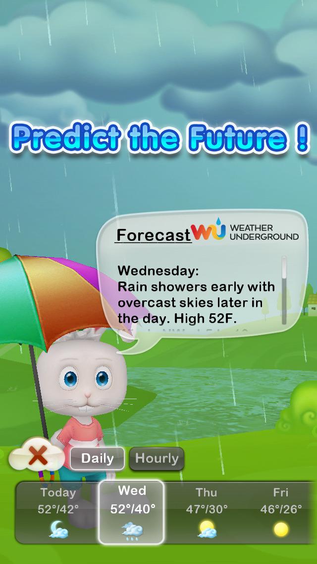 Weather Rabbit screenshot 2
