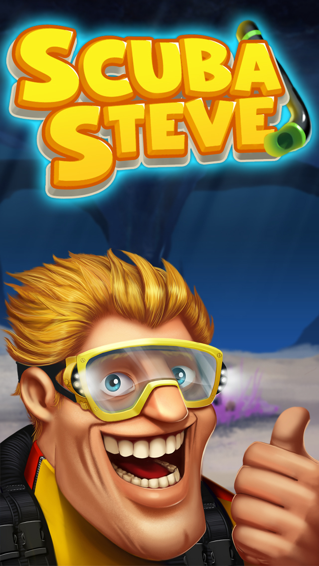 Speedy Scuba Steve : A Perilous Swimming Side Scroller! screenshot #1