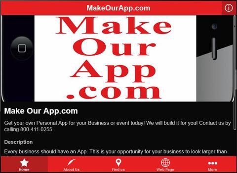 MakeOurApp.com - náhled