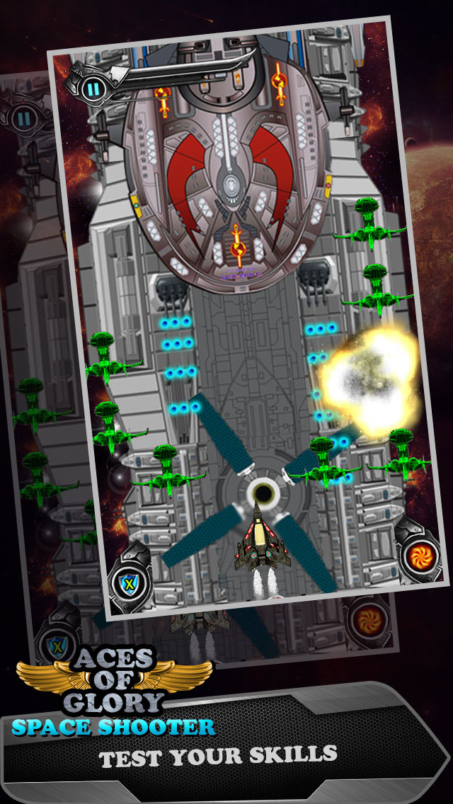 Aces of Glory in Galaxy - Defying Gravity and Targeting Alien Planet screenshot 3