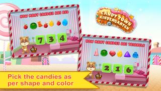 Candy Town Kindergarten - Kids educational app screenshot 5