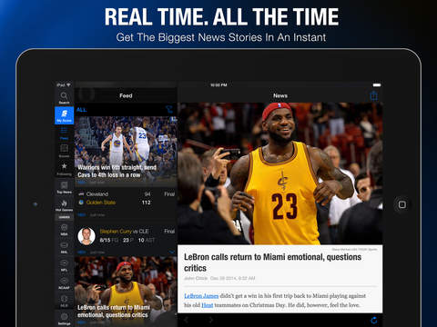 theScore: Sports News & Scores screenshot 6
