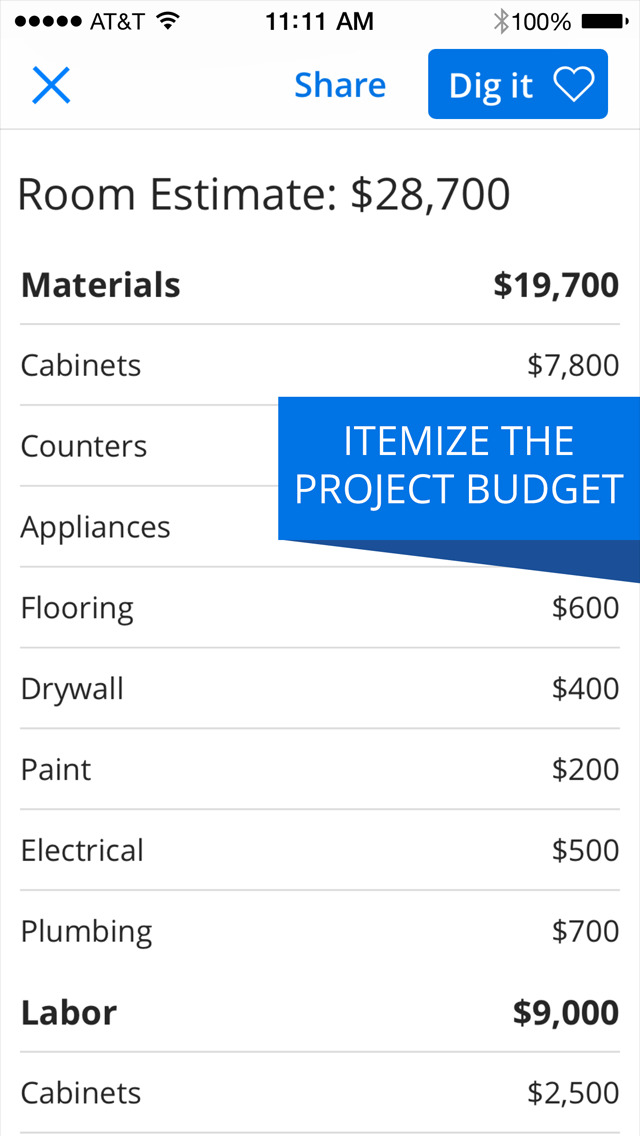 Zillow Digs - Home Design and Paint Visualizer screenshot 5