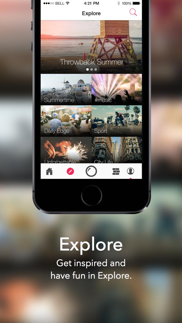 Videofy - Shoot HD video, edit, choose filter, slow motion and free music screenshot 5