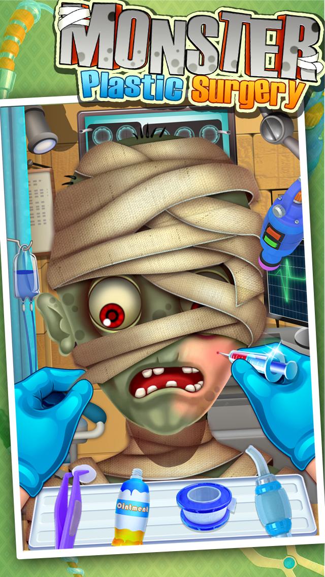 Monster's Plastic Surgery Simulator - Surgeon Games screenshot 3