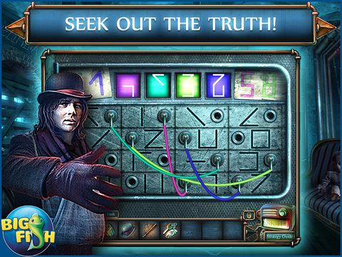 Haunted Hotel: Death Sentence HD - A Supernatural Hidden Objects Game screenshot 3