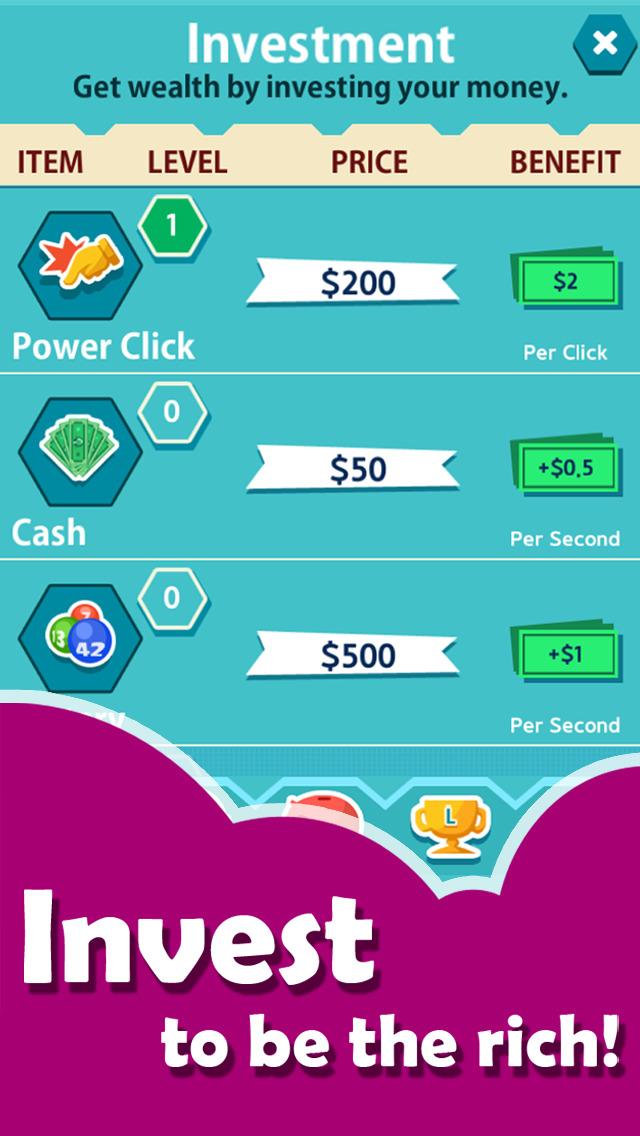 Money Clicker Friends screenshot 2