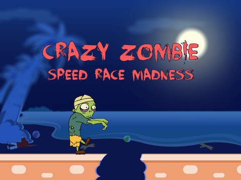 Crazy Zombie Speed Race Madness Pro - new virtual street racing game screenshot 4