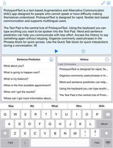 Proloquo4Text screenshot 7