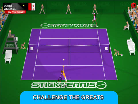 Stick Tennis Tour screenshot #2