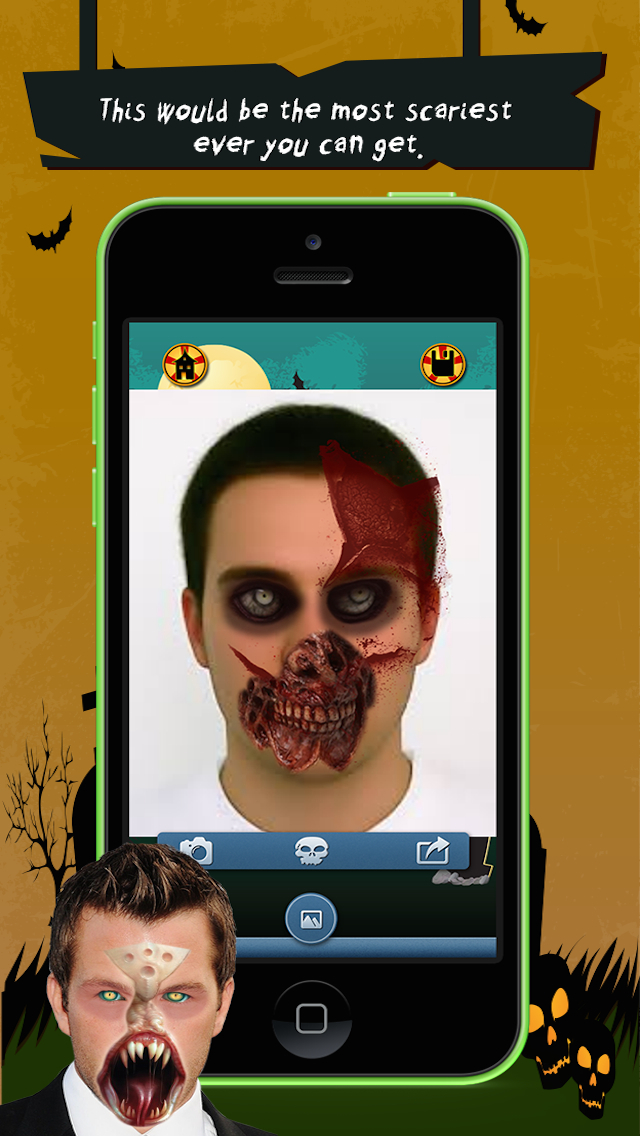 Zombie Booth Lite screenshot 4