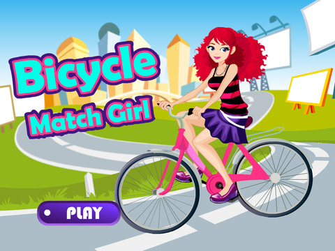 Bicycle Match Girl - náhled