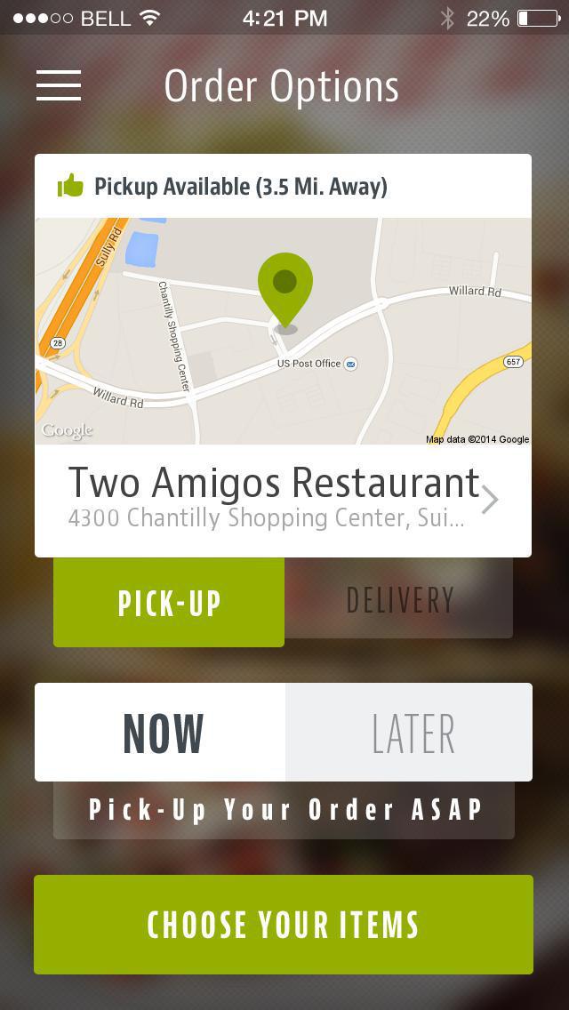 Two Amigos Restaurant screenshot 2