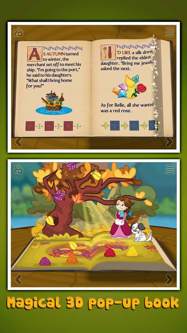 StoryToys Beauty and the Beast screenshot 1