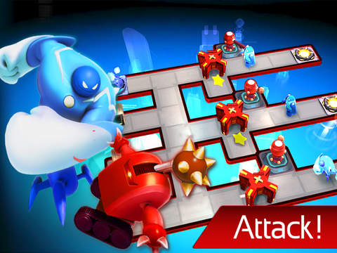 The Bot Squad: Puzzle Battles screenshot #2