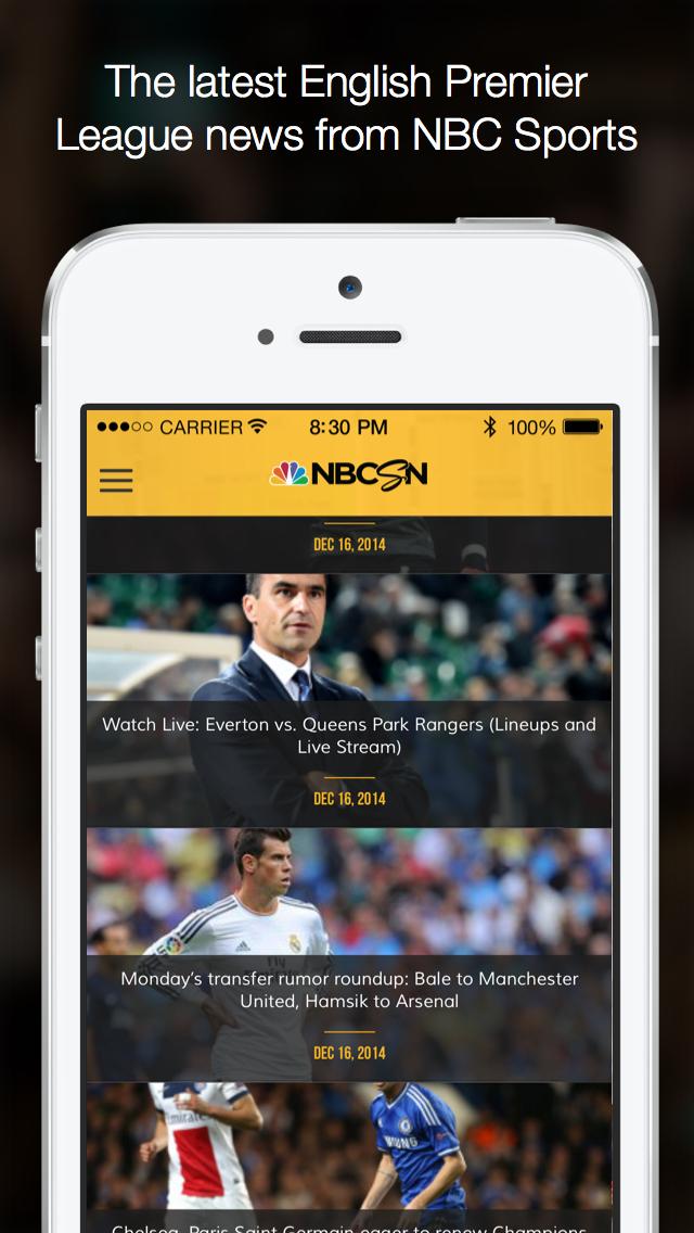NBC Sports MatchMaker screenshot 4
