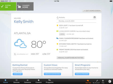 AT&T Digital Life screenshot 6