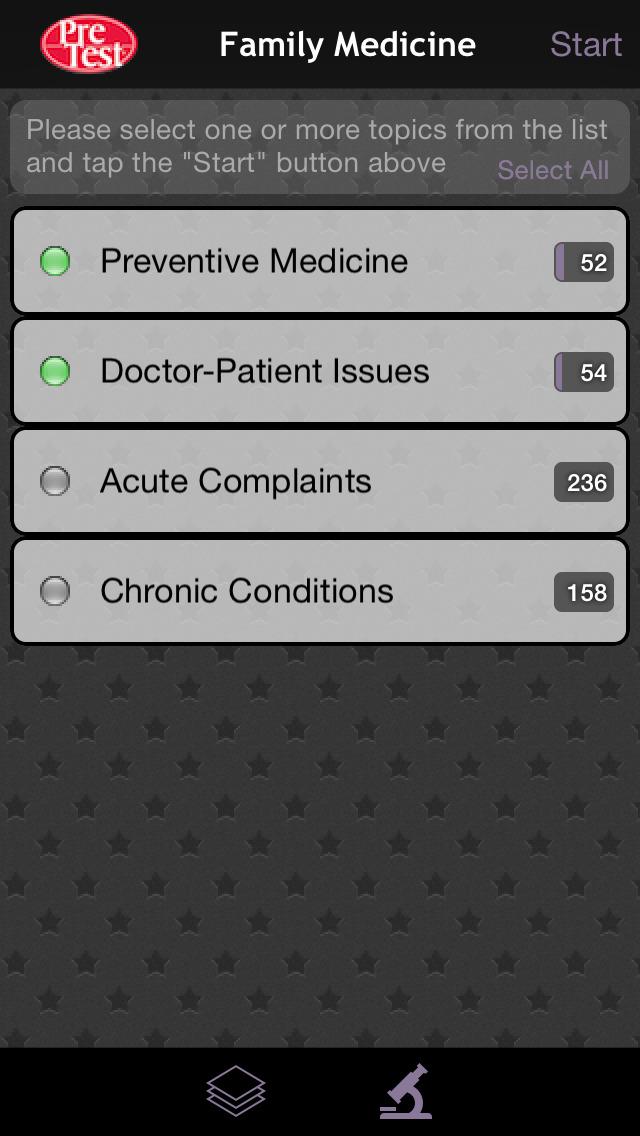 USMLE Family Medicine PreTest screenshot 2