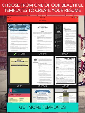 RadResume - Create a Professional Resume screenshot 7