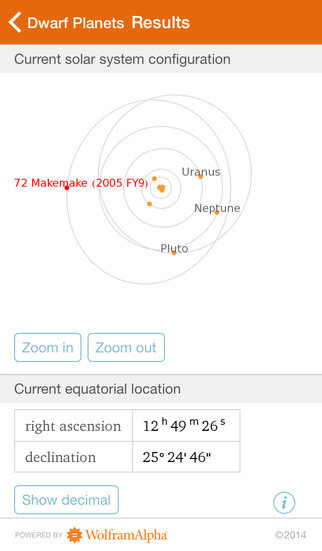 Wolfram Planets Reference App screenshot 5
