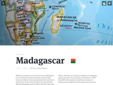 National Geographic World Atlas screenshot 7