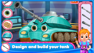 Tank Day Care Kids Game screenshot 1