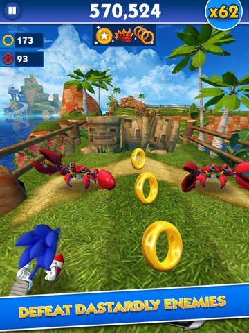 Sonic Dash - Endless Runner screenshot 8