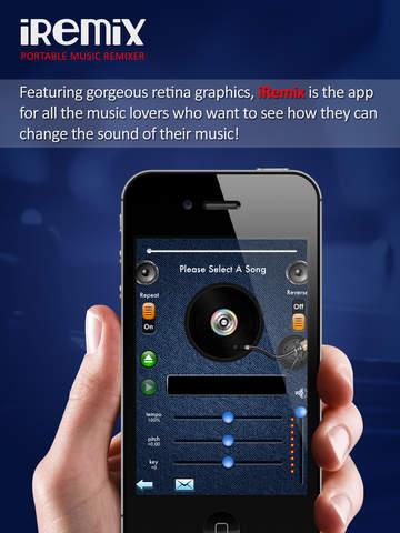 iRemix Free - Portable DJ Music Editor & Remixer screenshot 8